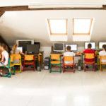 Podkroví - atelier a PC učebna