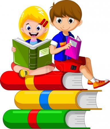 FotkyFoto_detske-cteni-knihy-zatimco-sedi-na-stoh-knih-dalsi-kreslene-pro-vas-design_79882180