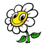 71470829-cartoon-flower