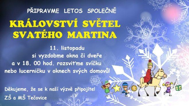 Svátek svatého Martina můžeme oslavit společně!