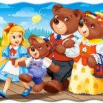 """Týden od 22.2. do 26.2. - ,,O Mášence a třech medvědech"""""""